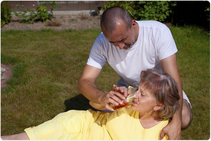 Heat stroke - Image Credit: Miriam Doerr Martin Frommherz / Shutterstock