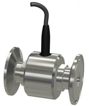 Stainless Steel Tri-Clamp Turbine Flow Sensor from Equflow BV