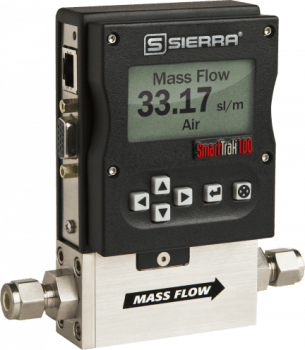 Sierra Instruments' SmartTrak 100 Premium Digital Mass Flow Controllers and Mass Flow Meters