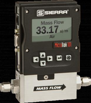 MicroTrak 101 Ultra Low-Flow Gas Mass Flow Meters & Controllers from Sierra Instruments