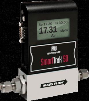 Sierra Instruments' SmartTrak 50 Economical Digital Mass Flow Controllers & Mass Flow Meters