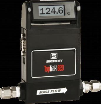 TopTrak 820 Ecomonical 800 Series Mass Flow Meters from Sierra Instruments