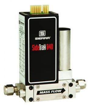 Sierra Instruments' SideTrak 840 Analog Mass Flow Controller
