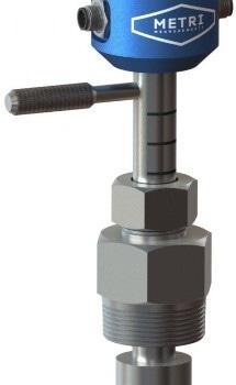 Metri IC IPM Insertion Paddlewheel Flow Meter from iCenta