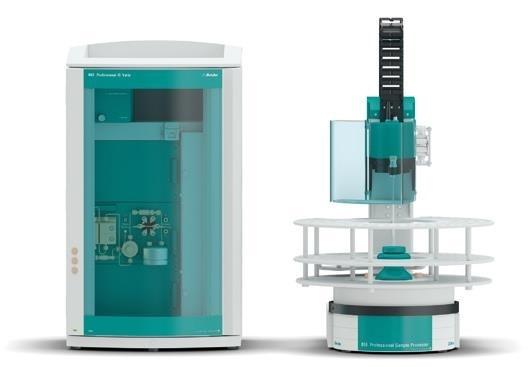 Glyphosate and AMPA were determined with the ProfIC IC Vario 1 Amperometry system.