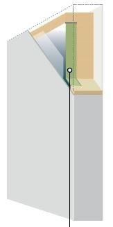 Vacuum Insulated Panel inside a ULT freezer wall