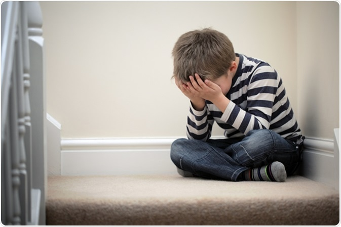 How to Ease Anxiety in Children. Image Credit: Brian A Jackson / Shutterstock