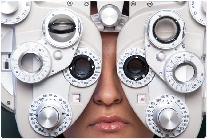 Optometry machine vision. Image Credit: Gcafotografia / Shutterstock