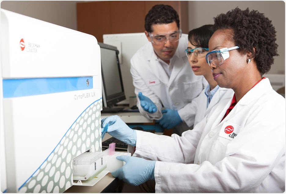 Beckman Coulter Scientists