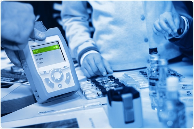 Portable Raman Spectrometer. Image Credit: Forance / Shutterstock