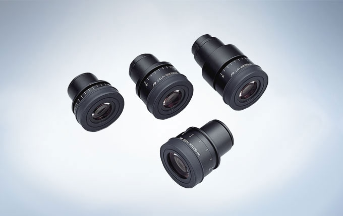 ComfortView Eyepieces for Reduced Eyestrain