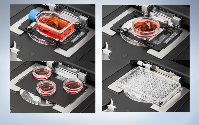 Easy Handling of Any Type of Cell Culture Containers