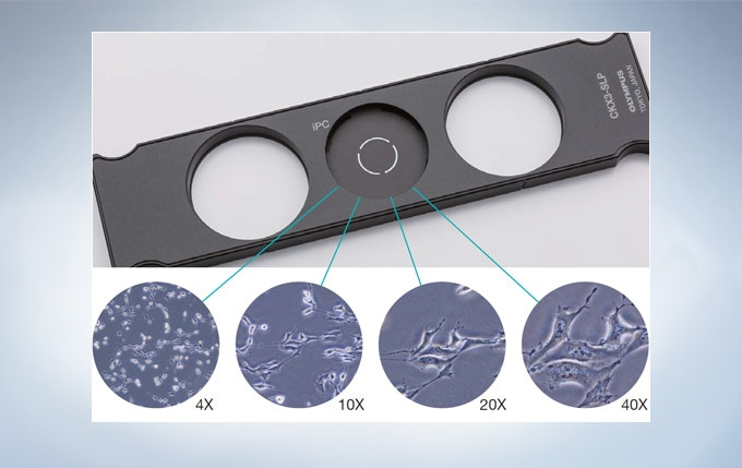 Fast and Efficient Cell Observation with the integrated Phase Contrast (iPC) System