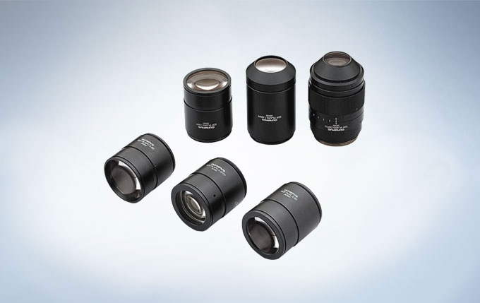 Lineup of SDF Objective Lenses