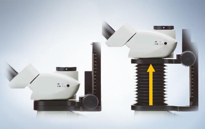 Extendable Eyepoint Adjuster