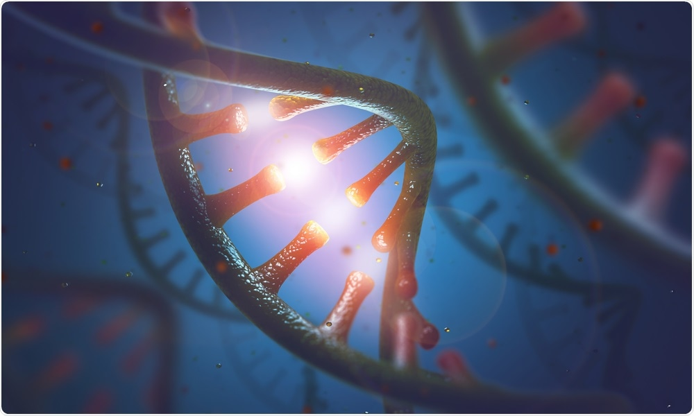 Molécula do RNA - pelo ktsdesign
