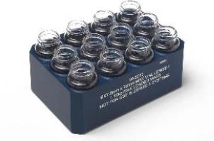 Genevac 20-ml scintillation vial holder.
