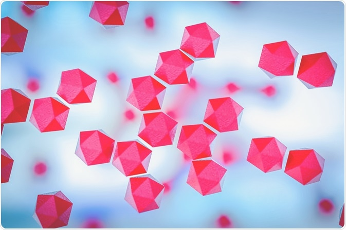 Hexagon shaped Titanium Nanoparticles - an image by CI Photos