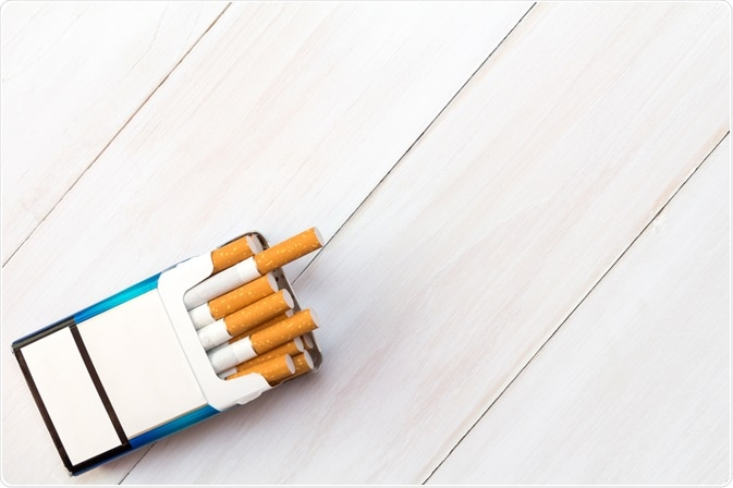 Packet of cigarettes - By graja