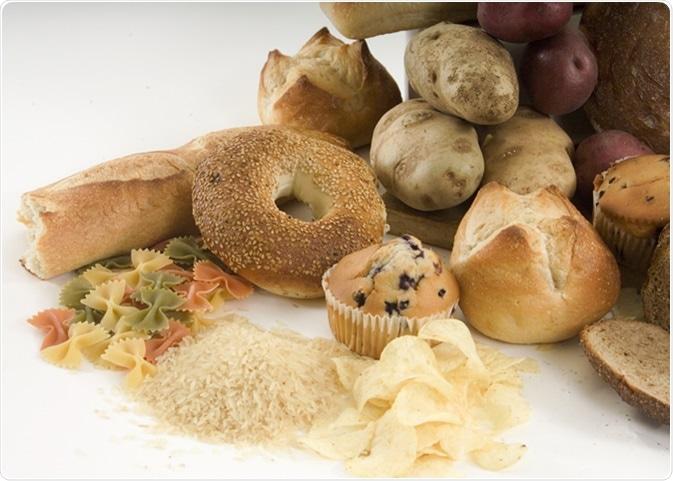 Starchy foods. Image Credit: Karen Struthers / Shutterstock