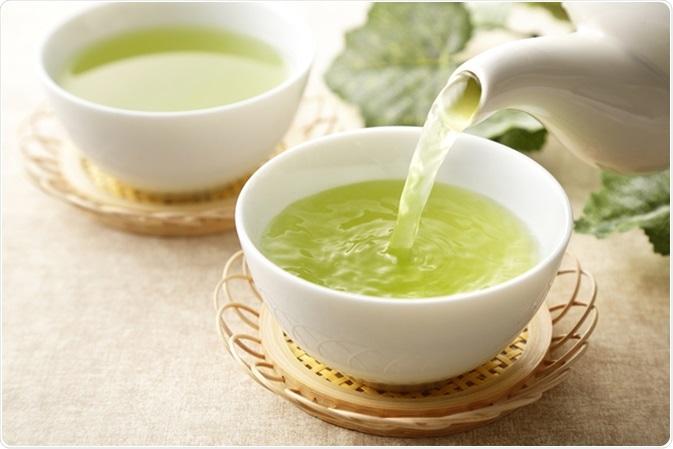 Tè verde giapponese. Credito di immagine: Nishihama/Shutterstock