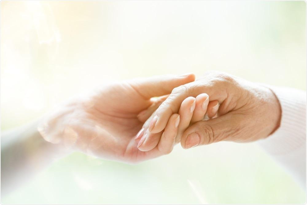 Holding hands - parkinson