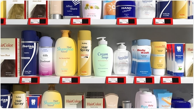 Personal care products. Image Credit: Gts / Shutterstock