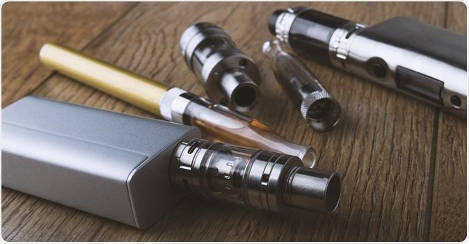 Vaping pen, vape devices. Image Credit: Hazem.m.kamal / Shutterstock