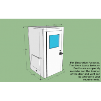 Silent Space Isolation Booth from Advanced Acoustics