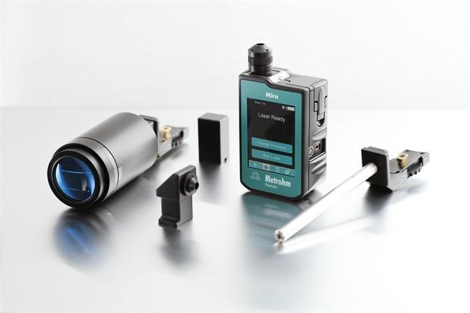 Mira, Metrohm's handheld Raman spectrometer for real-time analysis and identification