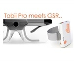 Shimmer3 GSR integrated to Tobii Pro's software platform for eye tracking research