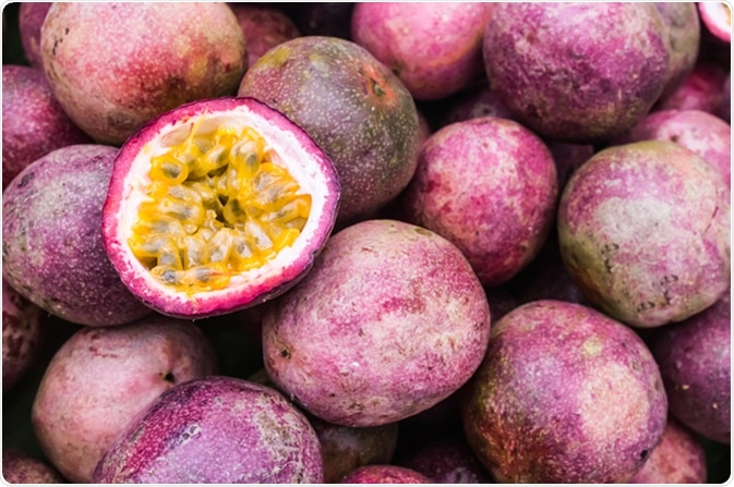 Passion Fruit. Image Credit: NECHAPHAT / Shutterstock