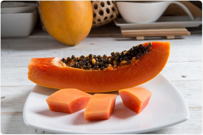 Papaya fruit. Image Credit: Regreto / Shutterstock