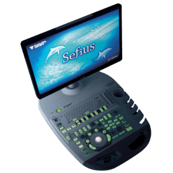 Sefius UF-890AG Full HD Color Doppler Ultrasound System from Fukuda