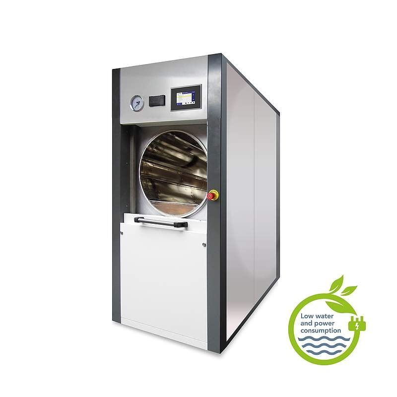 Circular Chamber Sliding Front Door Autoclave from Astell Scientific