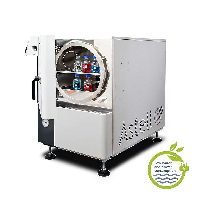 Astell Scientific's Large Swiftlock Front Loading Autoclave