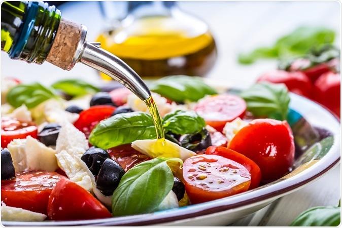 Mediterranean salad. Image Credit: Marian Weyo / Shutterstock