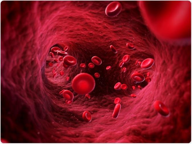 Drugs in bloodstream