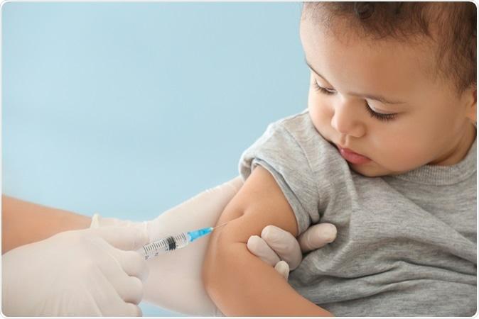 Doctor vaccinating child - Image Credit: Africa Studio / Shuttersrtock