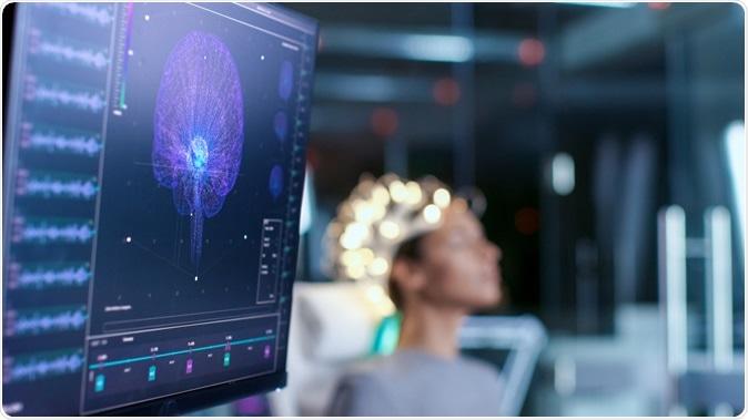 Scientists turn brain waves into speech using AI. Image Credit: Gorodenkoff / Shutterstock