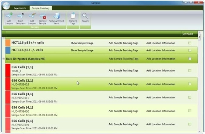Laboratory Sample Management Software
