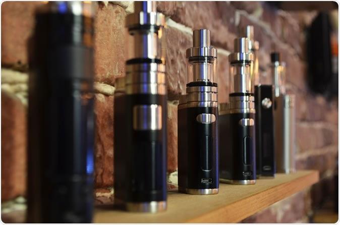 Electronic cigarettes. Image Credit: Nicat Nasibli / Shutterstock