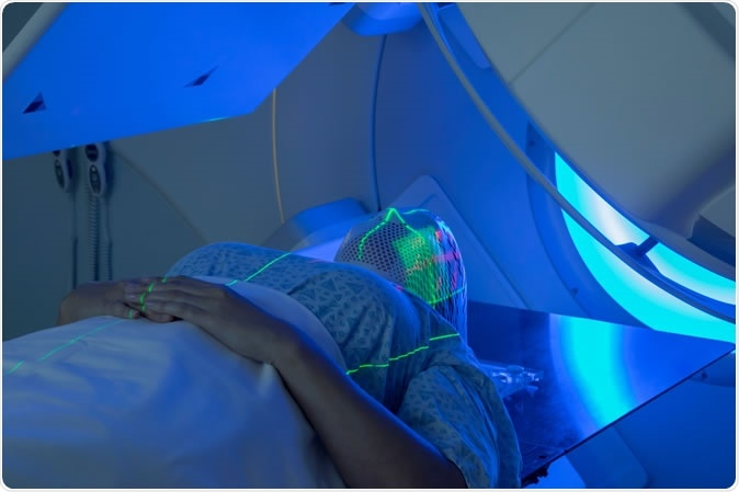 Woman receiving Radiation Therapy for Cancer Treatment - Image Credit: Mark Kostich / ShutterstockWoman receiving Radiation Therapy for Cancer Treatment - Image Credit: Mark Kostich / Shutterstock