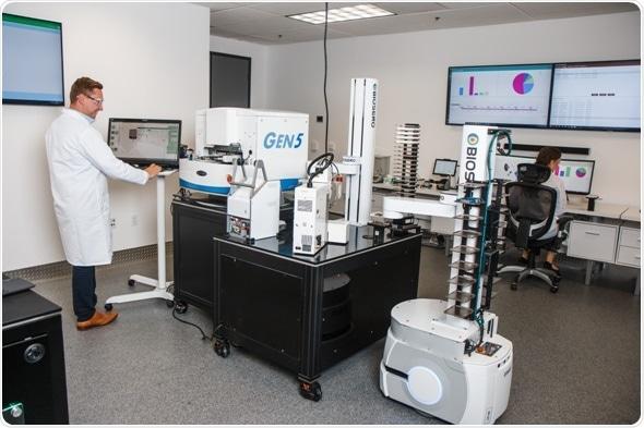 El laboratorio de la aceleración de Biosero muestra las innovaciones puntas para la automatización de laboratorio total