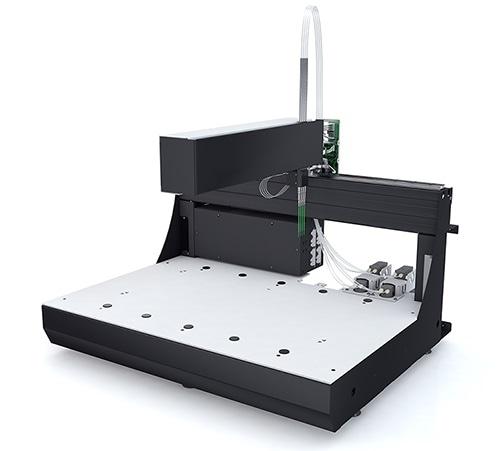 Tecan rivela la piattaforma di manipolazione liquida robot dello sviluppo dello strumento dell