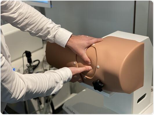 VirtaMed ArthroS™ Hip anatomical model
