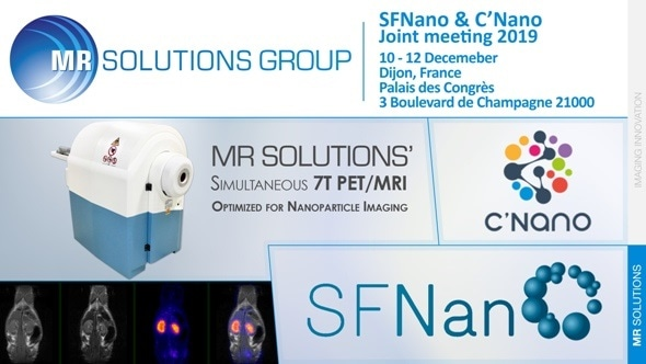MR Solutions participates in the first SFNano & C'Nano joint meeting 2019