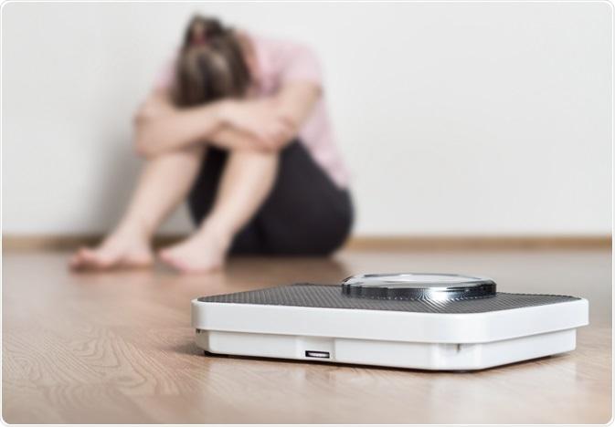 saúde mental de ganho de peso