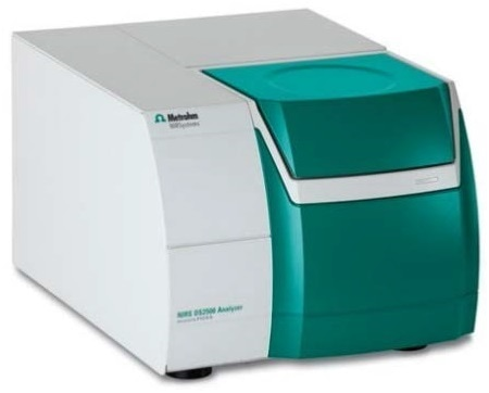The NIRS DS2500 Analyzer was used for spectral data acquisition over the full range from 400 nm to 2500 nm.
