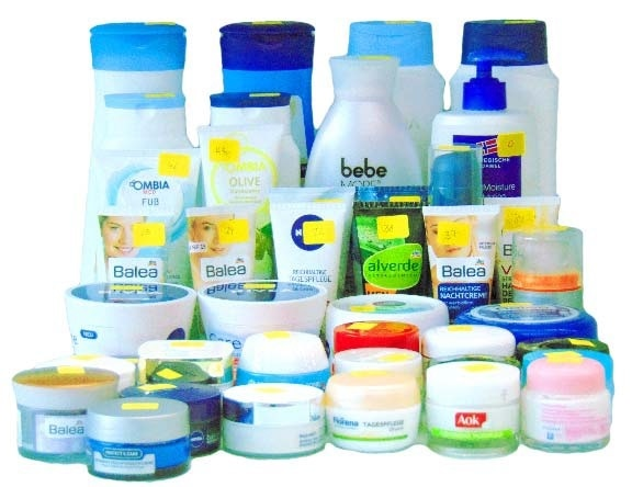 Moisturizing creams used in this study.